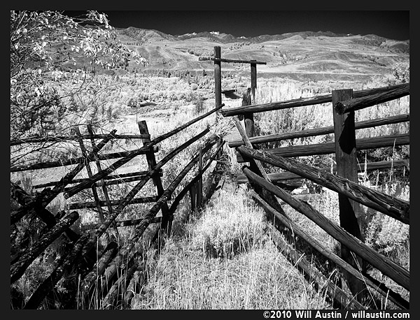 An old cattle chute in the Methow Valley, Twisp, WA