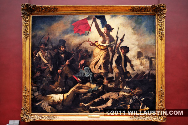 Liberty Leading the People in the Louvre Museum