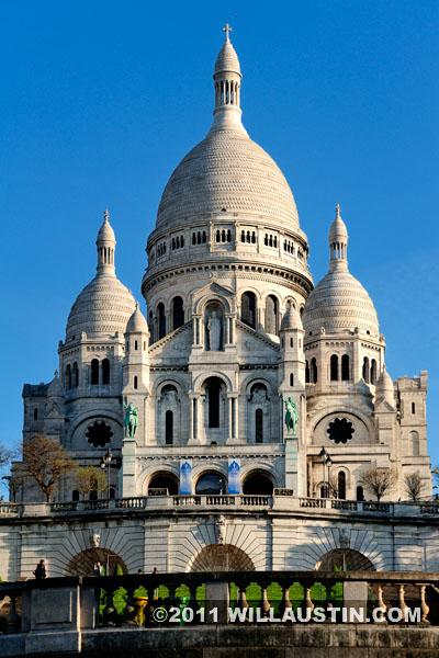 Sacré-Cœur Basilica, Monmartre Paris, France
