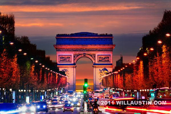 Paris – The Louvre to the Arc de Triomphe