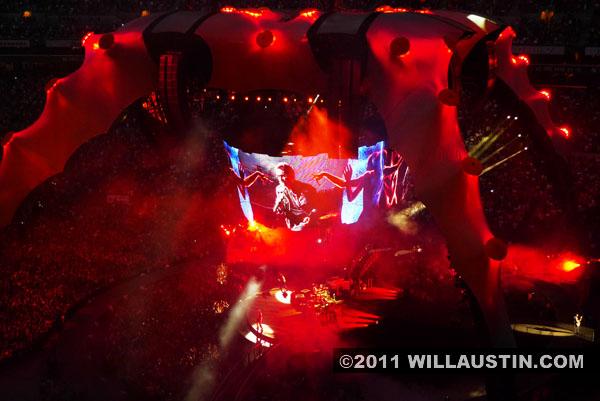 U2 360 Tour in Seattle, WA USA