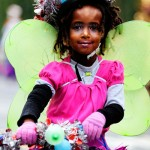 Butterfly girl, Fremont Solstice Parade 2011
