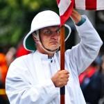 Flag Bearer Fremont Solstice Parade 2011
