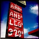 Gas sign, Lapwai, Idaho