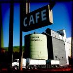 Cafe sign in Lapwai, Idaho