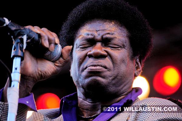 Charles Bradley performing at the Bumbershoot Festival in Seattle