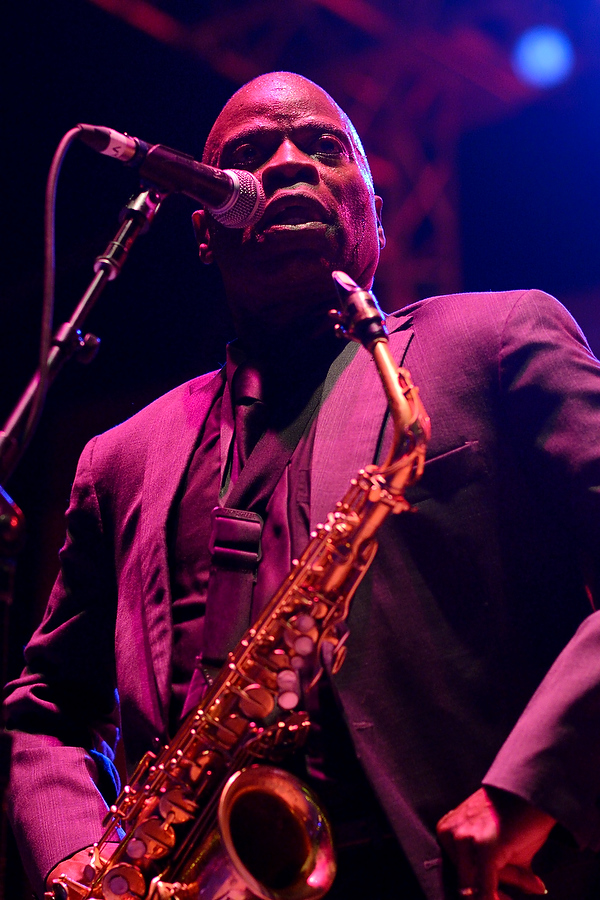 Maceo Parker at Bumbershoot 2013 in Seattle