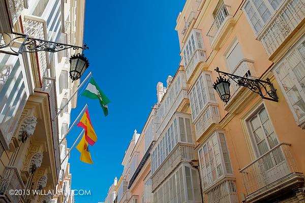 Street in C‡adiz Spain