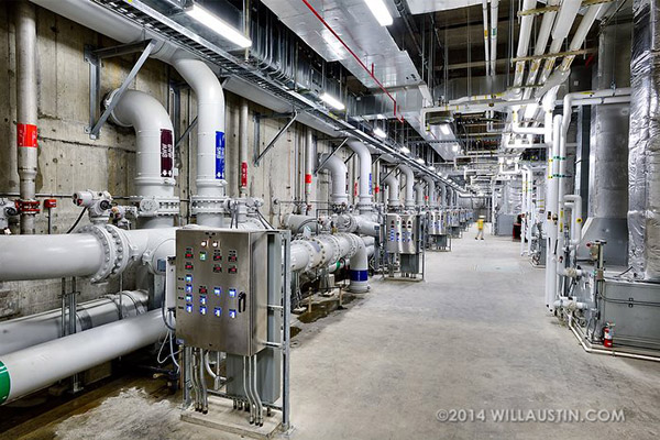 Water treatment plant photo by Will Austin