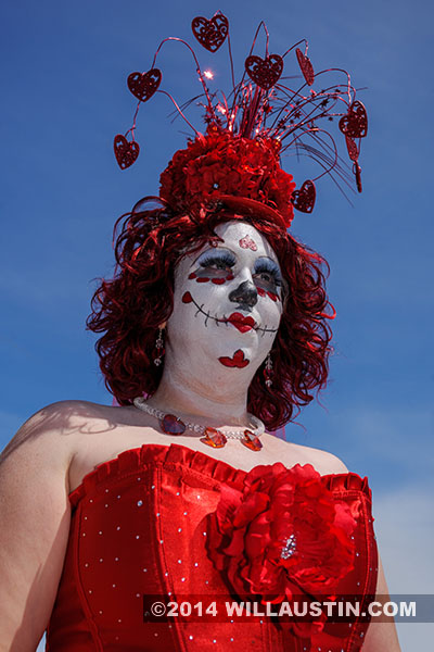 Image from the 2014 Fremont Solstice Parade in Seattle