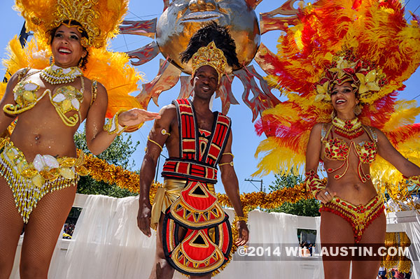 King and Queens at the 2014 Fremont Solstice Parade in Seattle