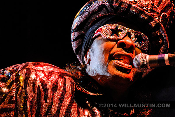 Bootsy Collins at the 2014 Bumbershoot festival