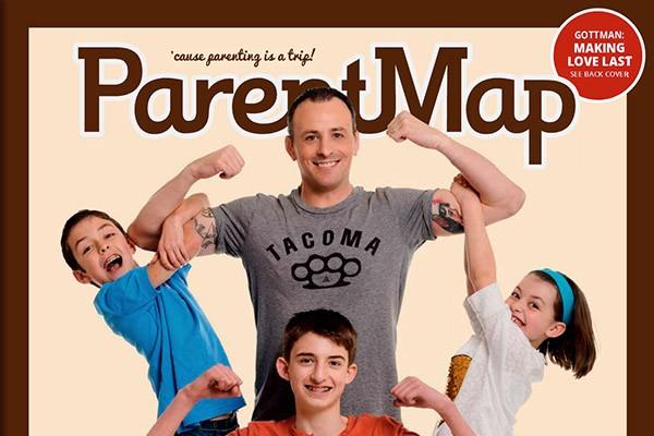 ParentMap Magazine Superheroes 2015