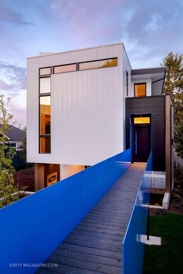 Home designed by Click Architects, Seattle, WA