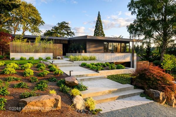 Home designed by Lane Williams Architects, Seattle, WA